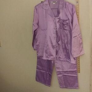 Gently used. 2 pc light Purple pj's size Large